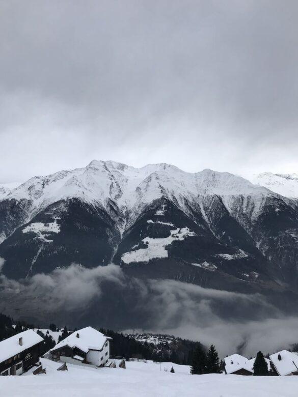 Blick ins Tal von Riederalp