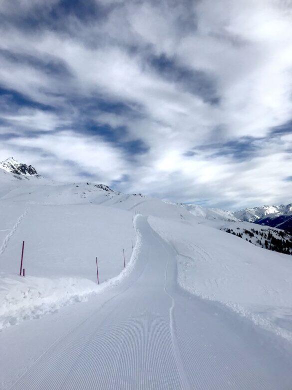 Gespurter Winterwanderweg