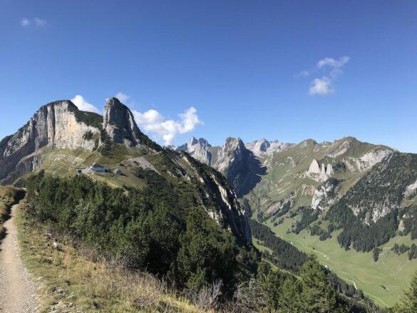 Höhenwanderweg im Alpstein