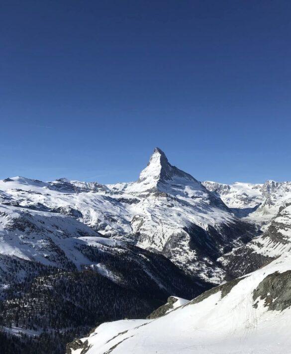 Matterhorn von Blauherd