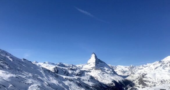 Matterhorn von Fluhalp