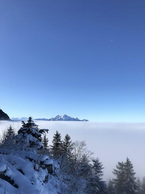 Nebelmeer bei Düssen