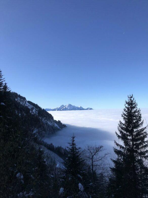 Nebelmeer unterhalb Rigi Staffel