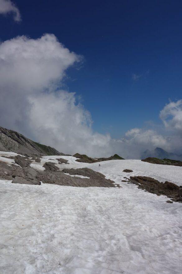 Schneefelder bei Rossegg