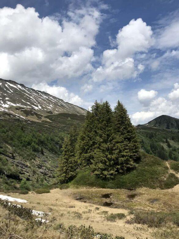 Berglandschaft vor Col de Voré