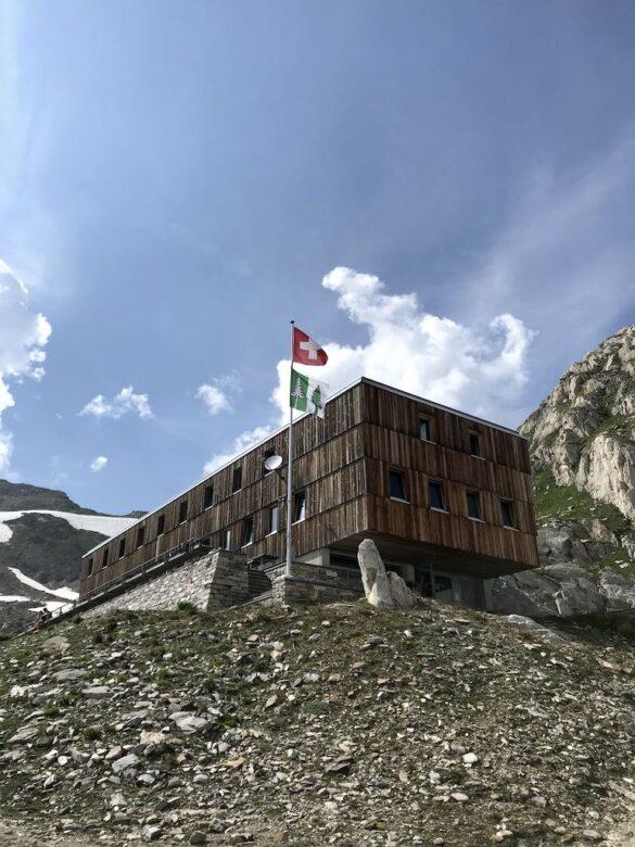 Bild von der Cristallina-Hütte
