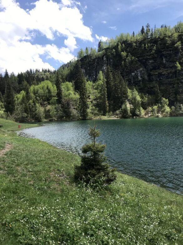 Lac de Chavonnes oberer Teil