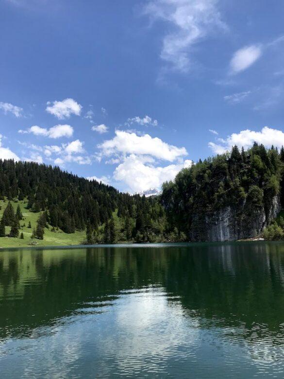 Lac des Chavonnes Panorama