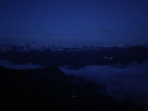 Wandern bei Nacht