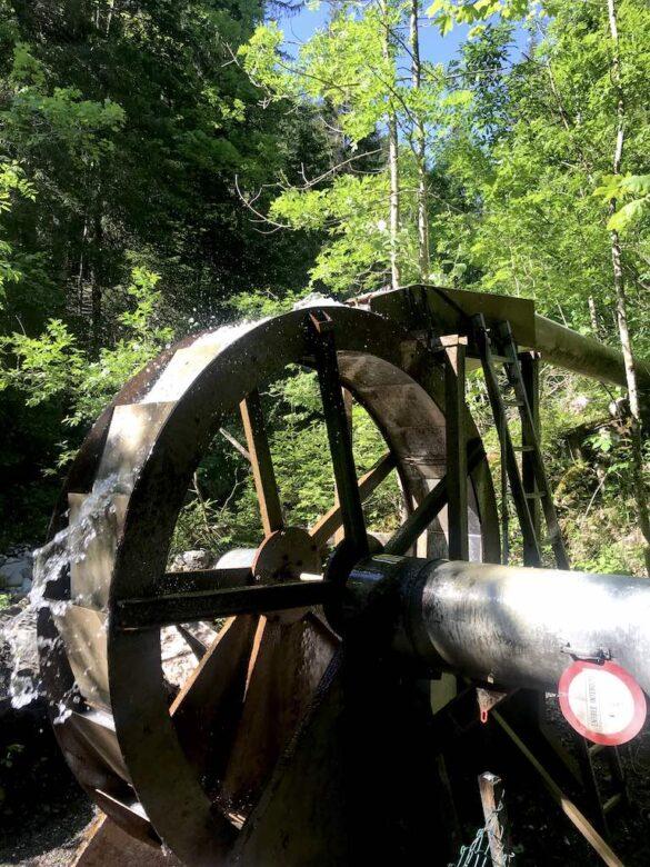 Wasserkraft bei Les Diablerets