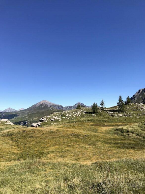 Landschaft beim Flueseeli