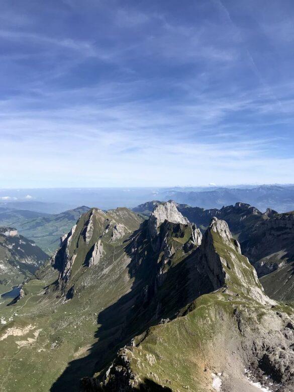 Panorama vom Altmannsattel mit Marwees