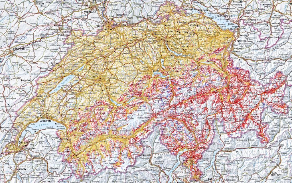 Wanderwegnetz Schweiz