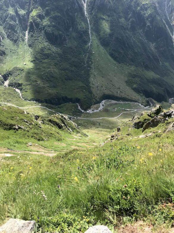 Abstieg nach Unteralp