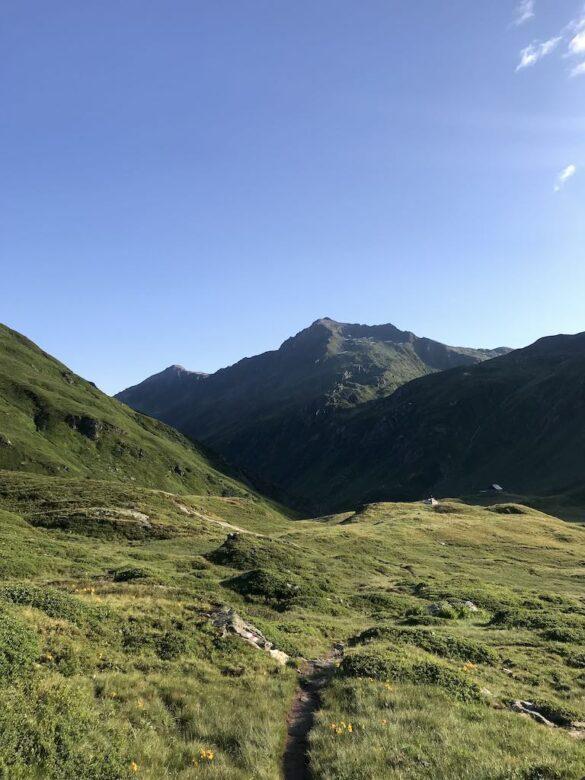 Blick zurück zur Vermigelhütte