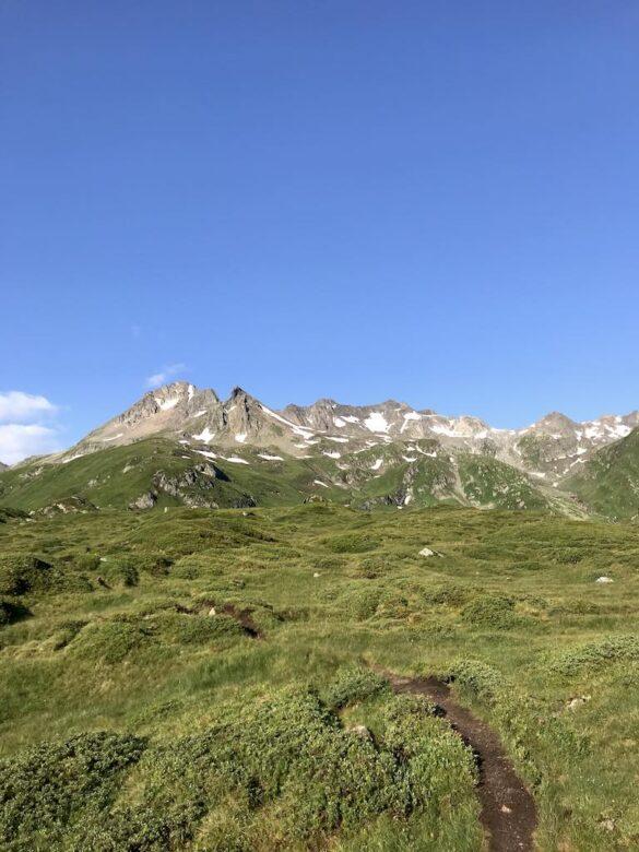 Pizzo Centrale und Bergwanderweg