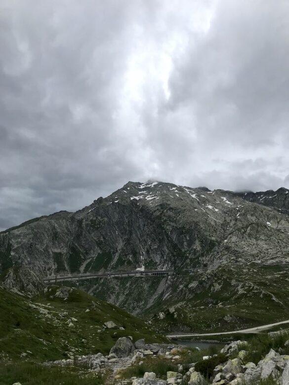 Vor dem Gotthardpass
