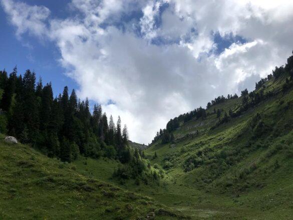 Blick Richtung Oberberg