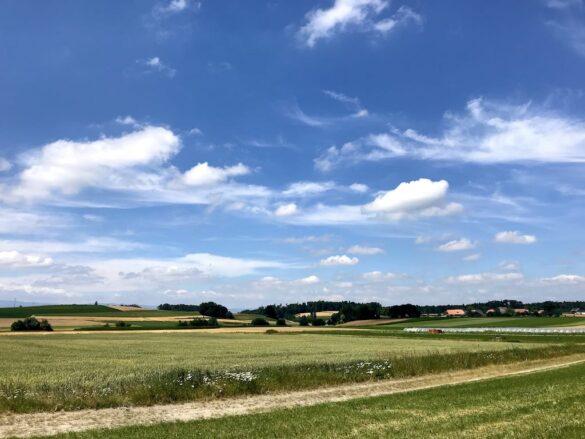 Landschaft bei Liebistorf