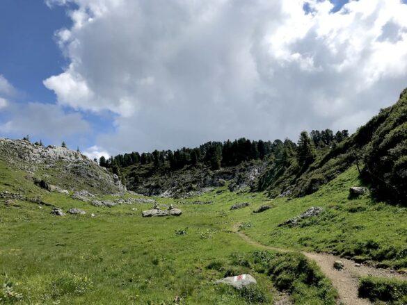 Landschaft beim Oberberg