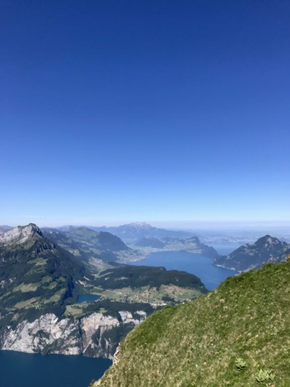 Ausblick über Seelisberg