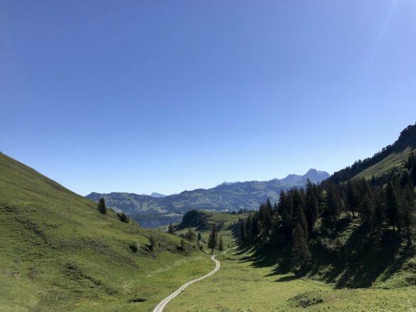 Panoramablick bei Stoos