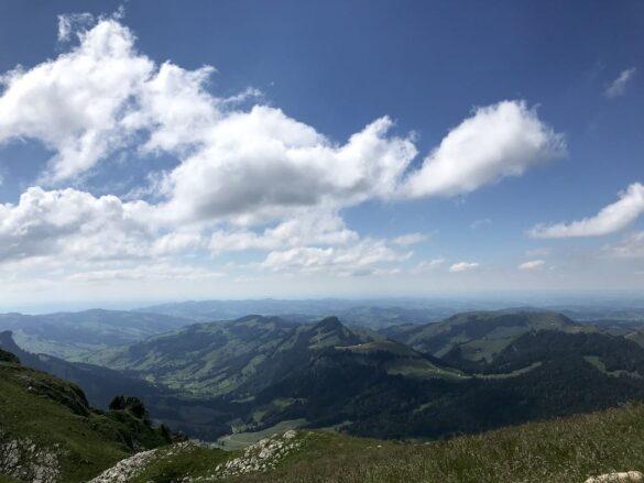 Blick ins Toggenburg bei Lauchwis