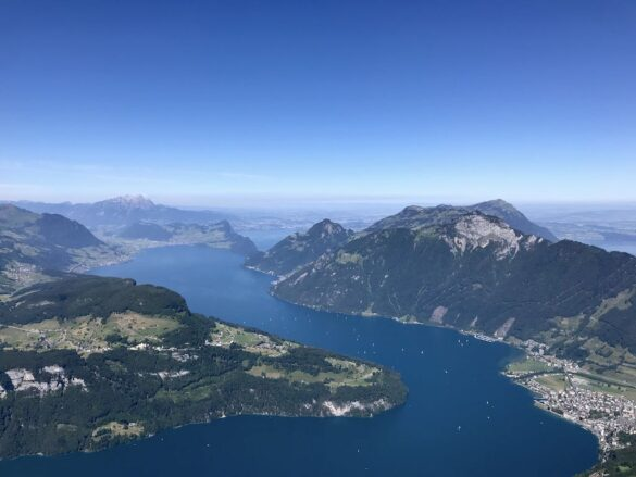 Panorama über Vierwaldstättersee