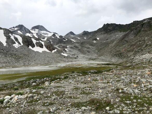 Berglandschaft unterhalb Rotondohüttte