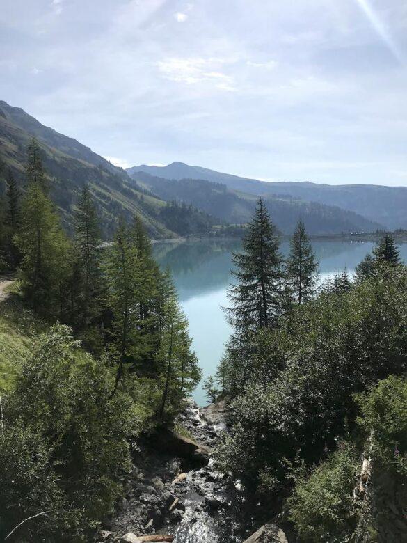 Lac de Tseuzier Richtung Staumauer