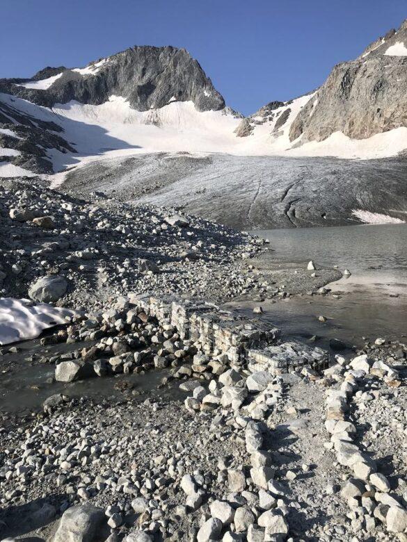 Wanderweg beim Gletscherseeli
