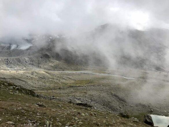 Ausblick bei Keschhütte