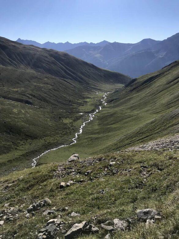 Blick ins Val d'Es-cha