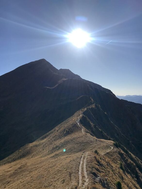 Gratwanderweg zum Vilan