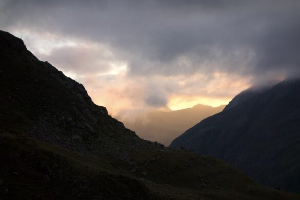Morgenstimmung Grialetschhütte