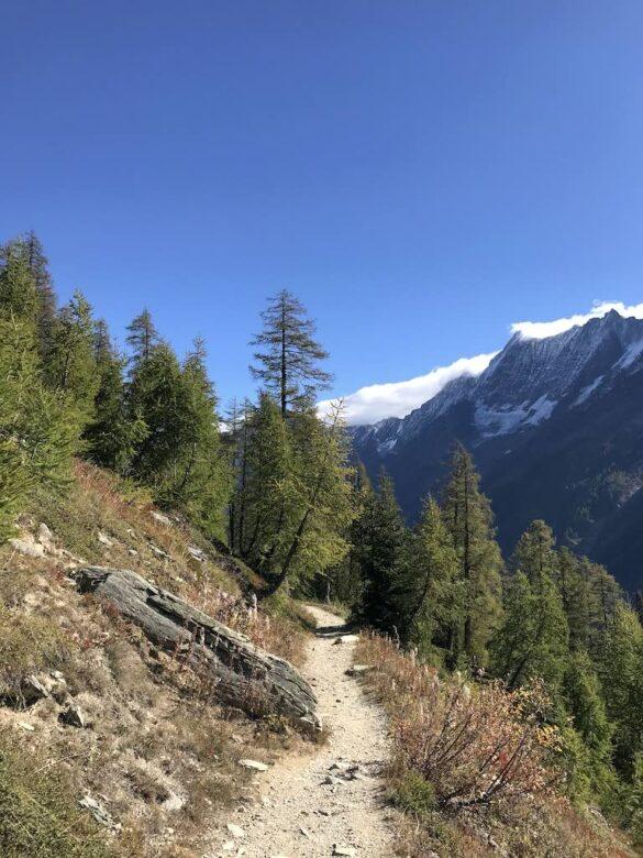 Wanderweg Lötschental-Panoramaweg