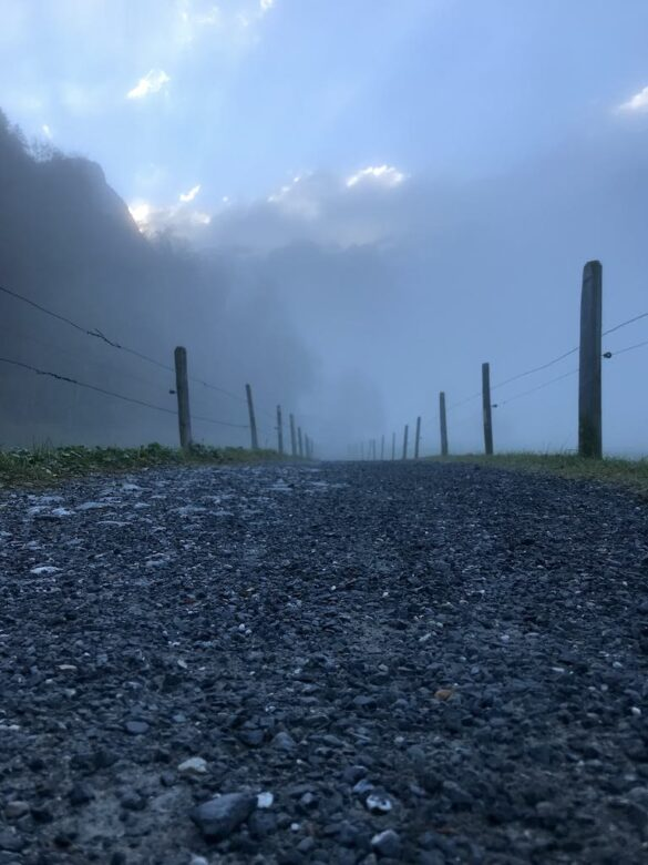 Wanderweg bei Engelberg