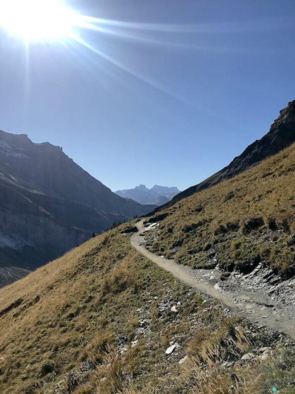 Wanderweg zum Heuberg