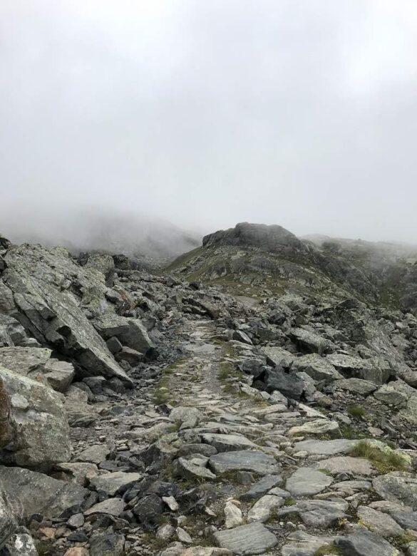 Wanderweg zum Scalettapass