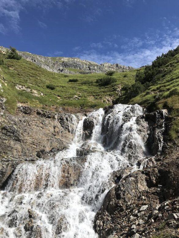 Wasserfall bei Crap Alv