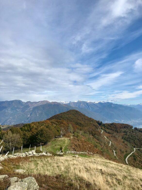 Ausblick von der Alpe di Noccia