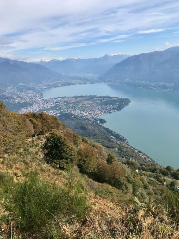 Aussicht bei Corona di Pinz