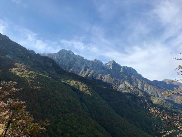 Bergkette im Centovalli