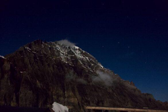 Das Balmhorn in der Nacht