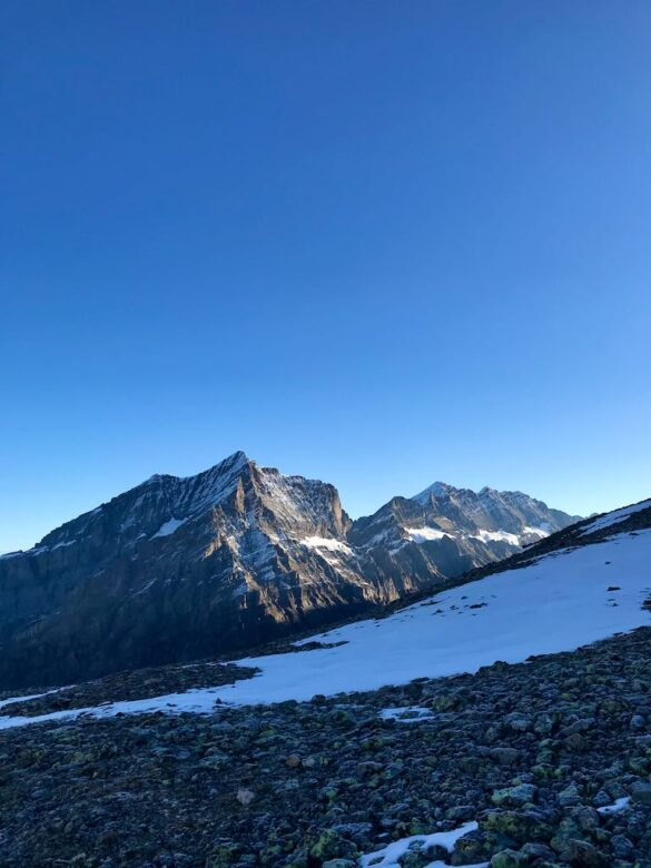 Das Doldenhorn auf dem Weg zum Hockenhorn