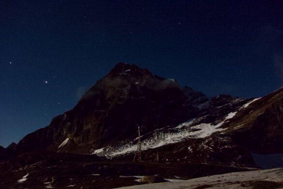Das Ferdenrothorn in der Nacht