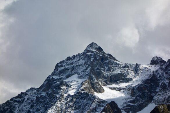 Das Hockenhorn im Schnee