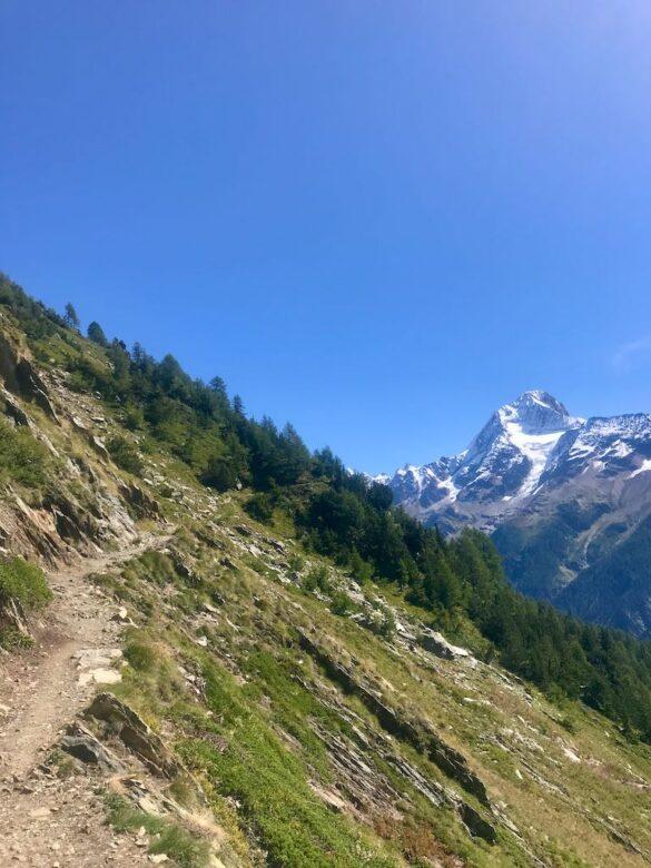 Panoramawanderweg zur Lauchernalp