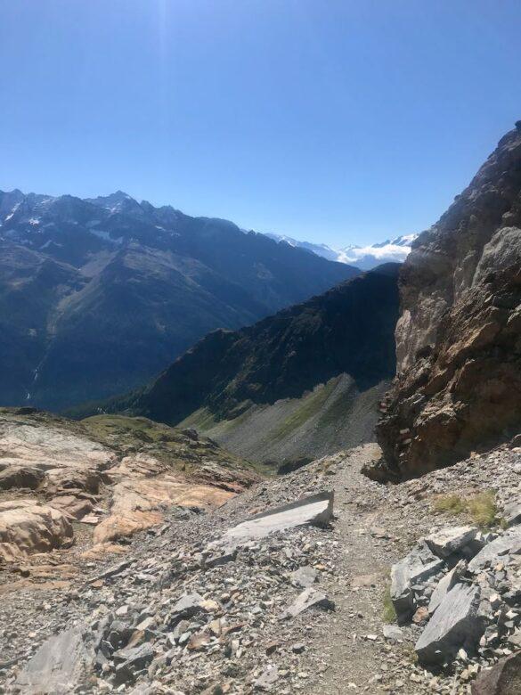 Wanderweg zur Kummenalp