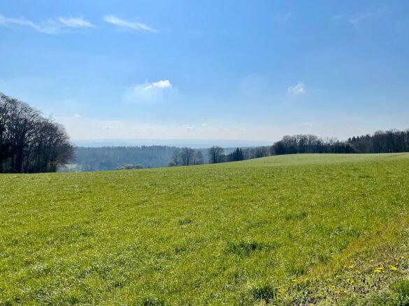 Landschaft nach Bretonnières